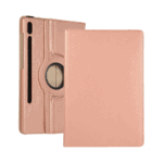 FONU Draaibaare Booklet Cover Samsung Tab S7 - T870 / T875 - Rose Gold