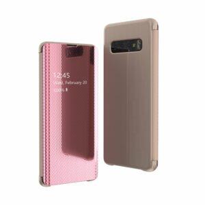 FONU Flip Cover Samsung Galaxy S10 - Roze 1