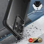 ARES 360° Backcover Hoesje Samsung Galaxy S21 Ultra - Transparant 3