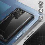 ARES 360° Backcover Hoesje Samsung Galaxy S21 Ultra - Transparant 4