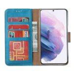 FONU Bookcase Hoesje Samsung Galaxy S21 - Blauw 4