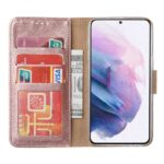 FONU Bookcase Hoesje Samsung Galaxy S21 - Roségoud 4