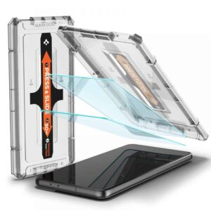 Spigen Tempered Glass Screen Protector Samsung Galaxy S21 Plus - 2 Stuks 1