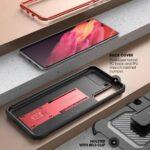 SUPCASE Backcover Beschermhoesje Samsung Galaxy S21 Plus - Rood