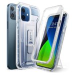 SUPCASE 360° Extreme Hoesje & Screen Protector iPhone 12 / 12 Pro – Frost